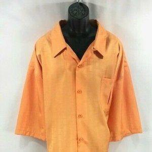 Smokey Joe's Men's Orange Leisure Suit Size 5XL